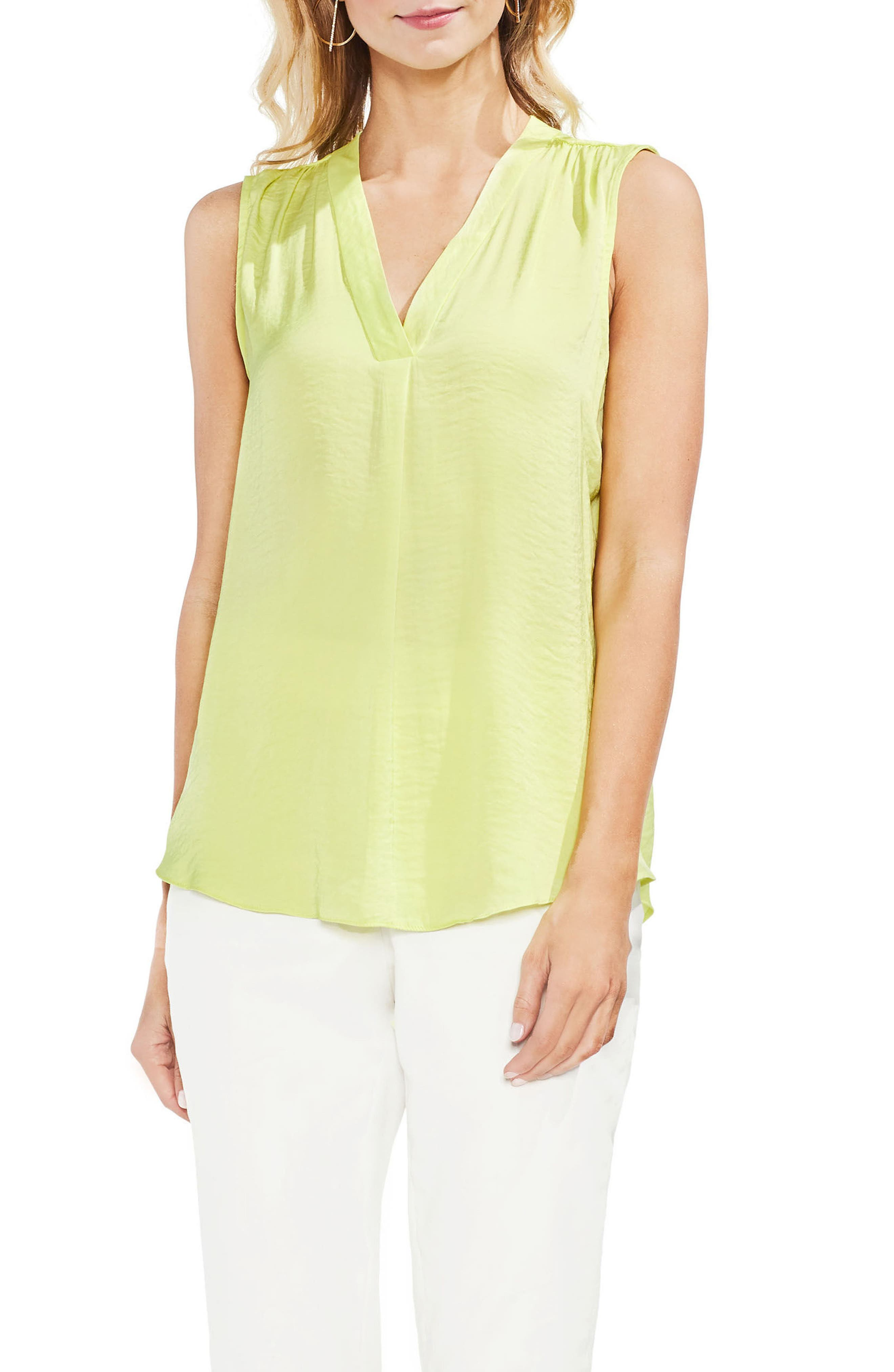 ,                             Rumpled Satin Blouse,                             Main thumbnail 136, color,                             301