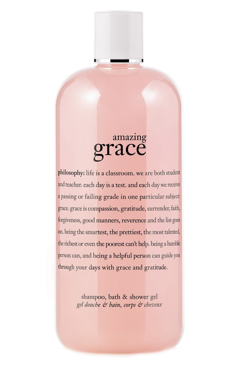 PHILOSOPHY 'amazing grace' shampoo, bath & shower gel, Main, color, NO COLOR