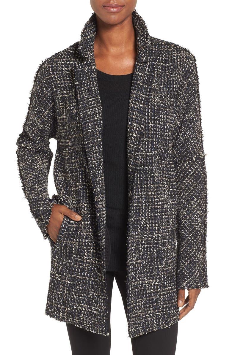 NIC+ZOE Tweed Jacket, Main, color, 007