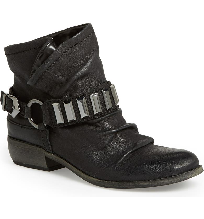 FERGIE 'Margo' Belted Bootie, Main, color, 001