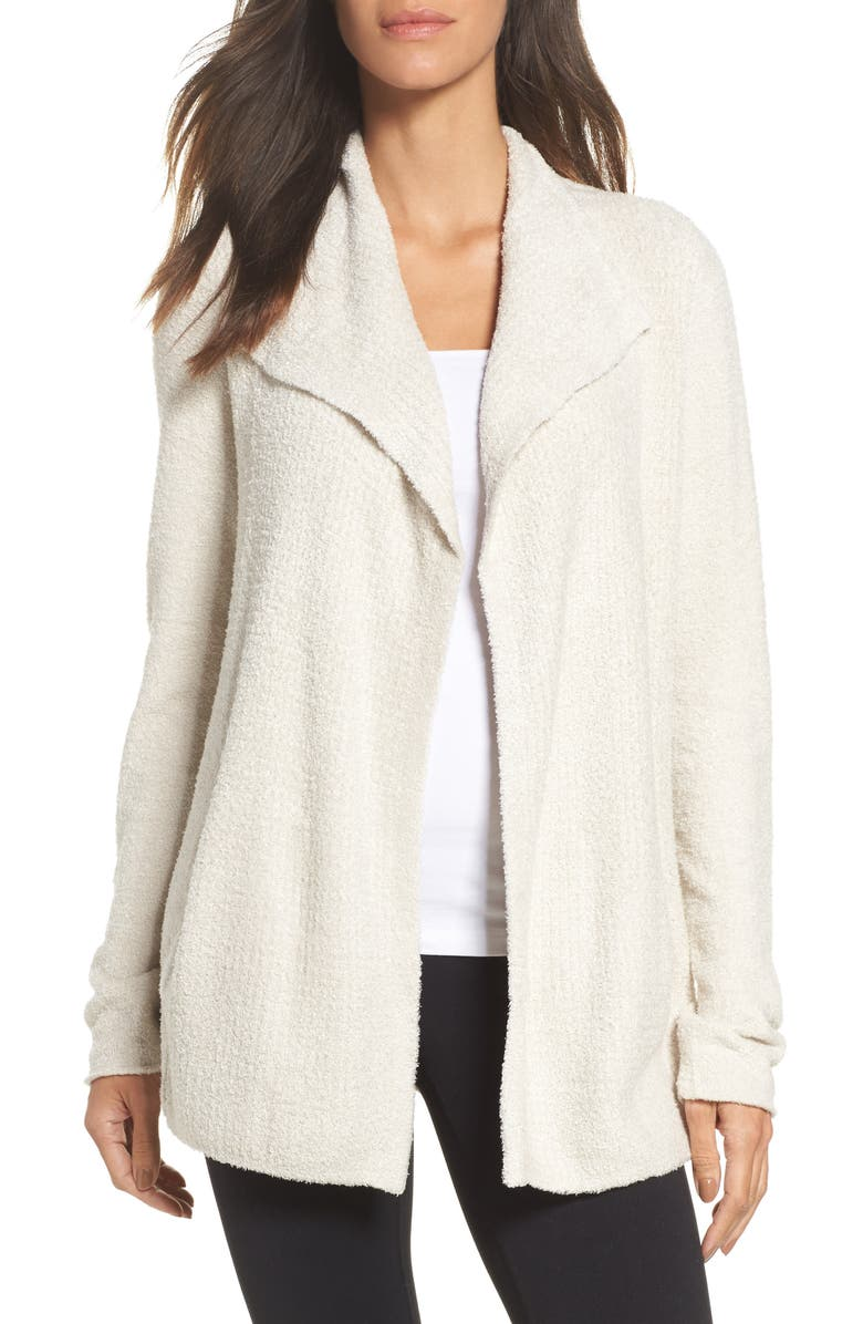 BAREFOOT DREAMS<SUP>®</SUP> Cozychic<sup>®</sup> Lite Coastal Cardigan, Main, color, BISQUE
