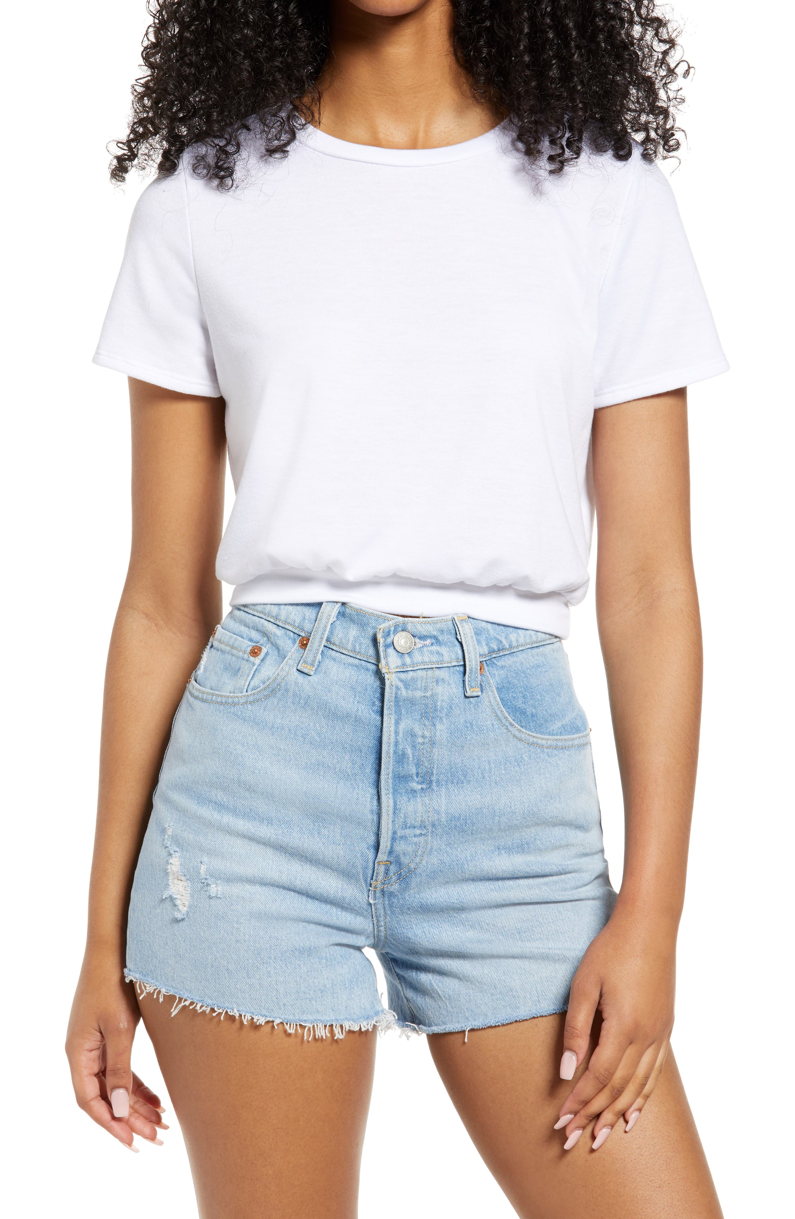 Keep Grooving French Terry Crop T-Shirt