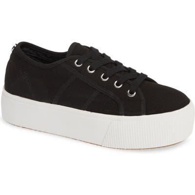 Steve Madden Emmi Platform Sneaker, Black
