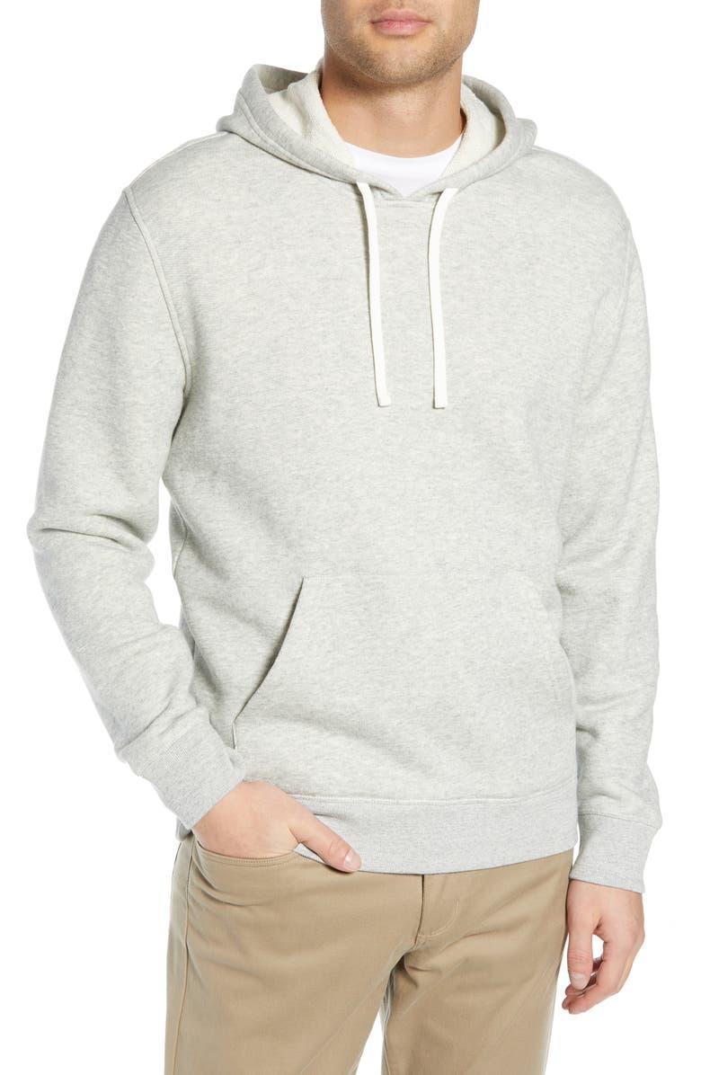 VINCE Slim Fit Pullover Hoodie, Main, color, 061