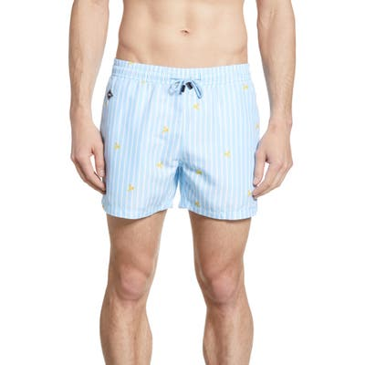 Nikben Platano Swim Trunks, Blue