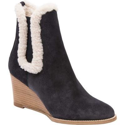 Andre Assous Sasha Wedge Bootie, Blue