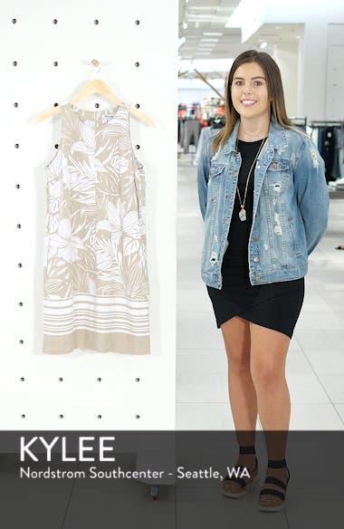 Mahana Linen Shift Dress, sales video thumbnail