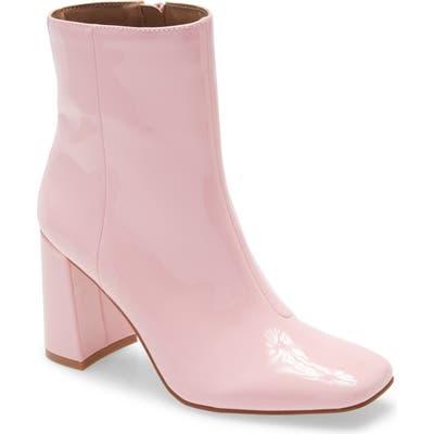 Steve Madden Taryn Square Toe Boot- Pink