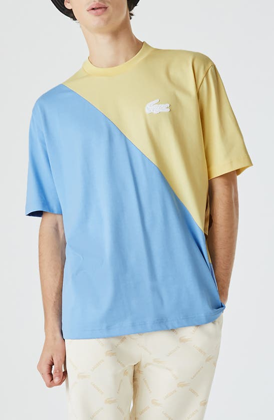 Lacoste ANGLED COLORBLOCK T-SHIRT