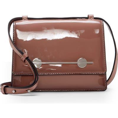 Vince Camuto Maeve Patent Leather Shoulder Bag - Pink
