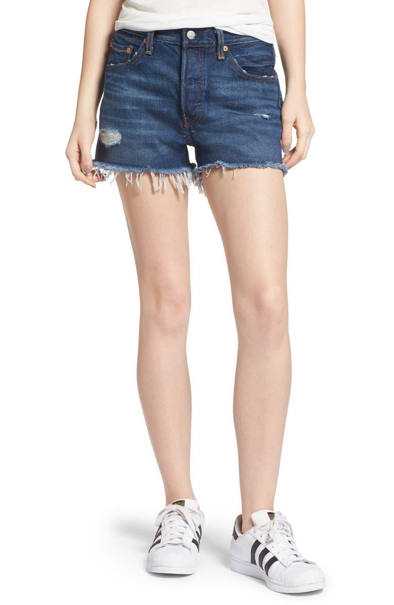 LEVI'S<SUP>®</SUP> 501<sup>®</sup> Denim Shorts, Main, color, 420