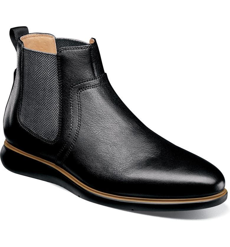 FLORSHEIM Fuel Chelsea Boot, Main, color, BLK TUMBLE