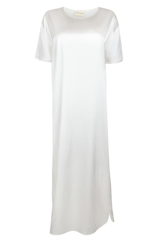 Loulou Studio Silks MAMUTIK SILK T-SHIRT DRESS