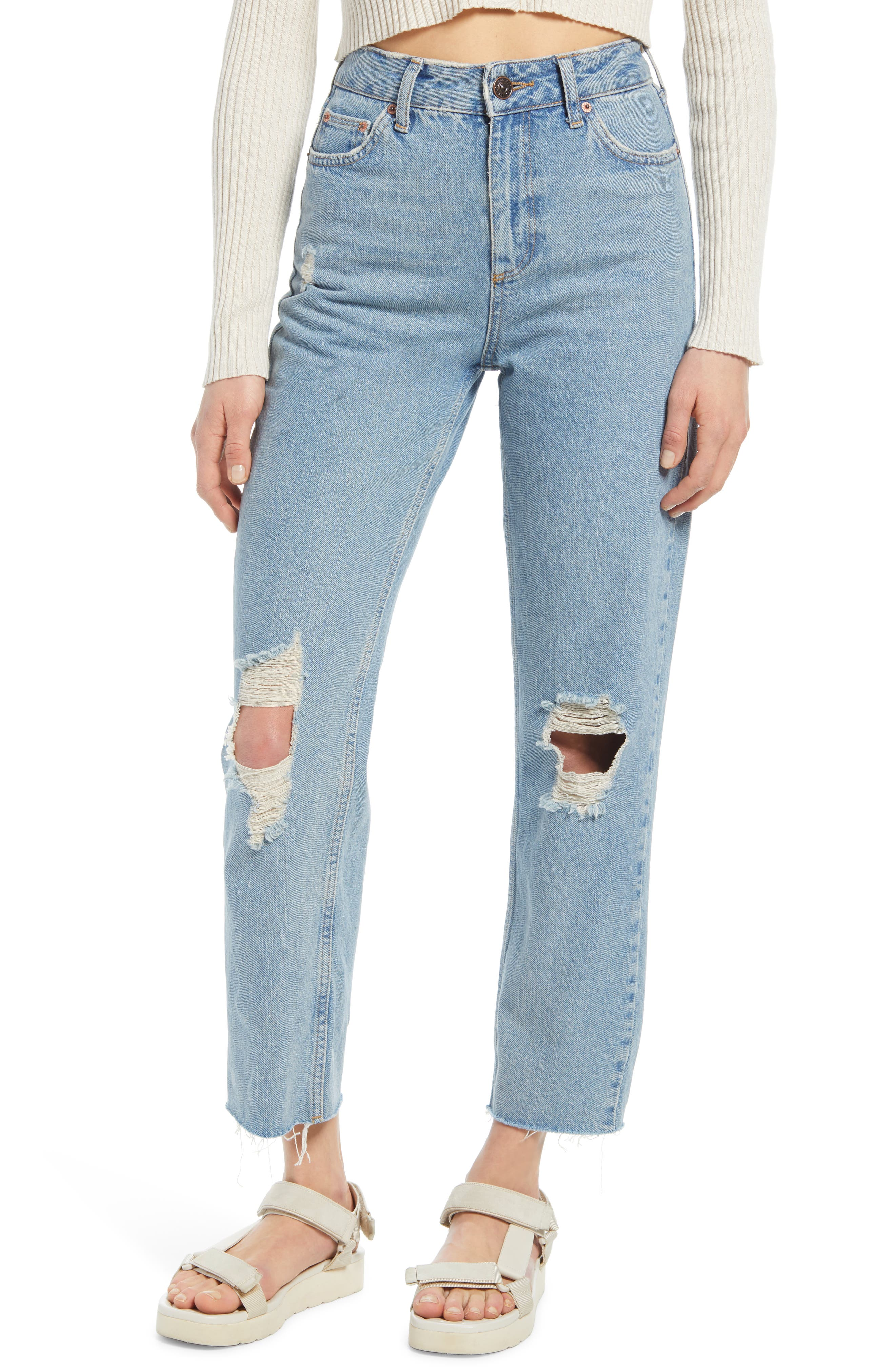 Pax Ripped High Waist Jeans