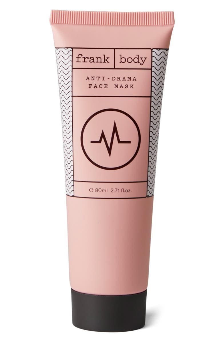 FRANK BODY Anti-Drama Face Mask, Main, color, NO COLOR