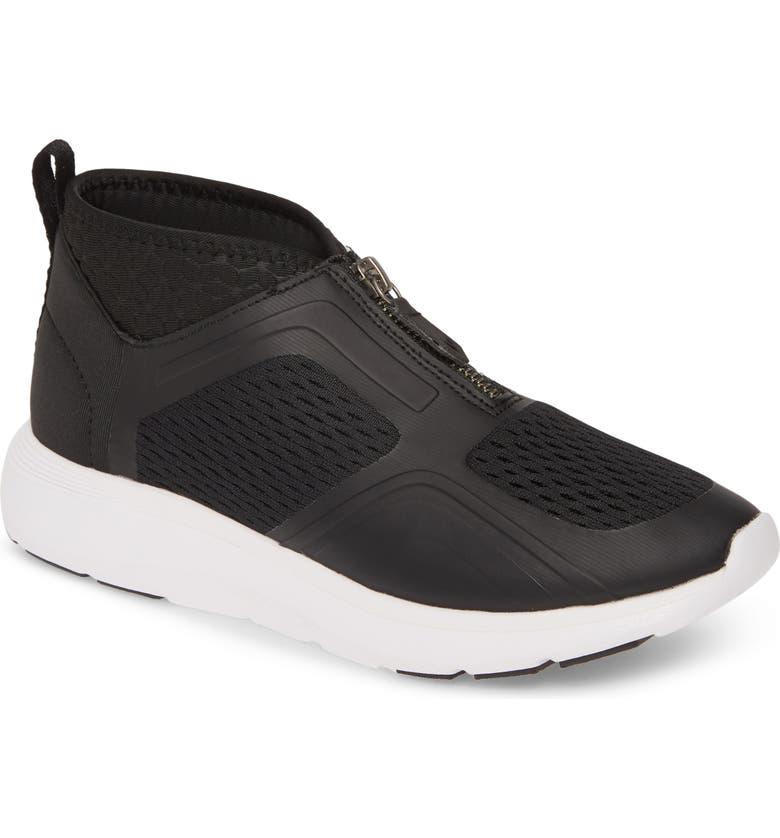 VIONIC Mist Mid Top Sneaker, Main, color, BLACK