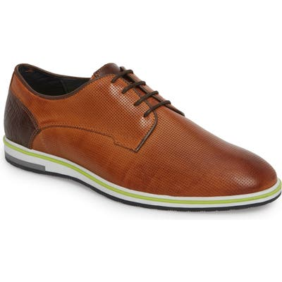 Cycleur De Luxe Plus Casual Perforated Derby - Brown