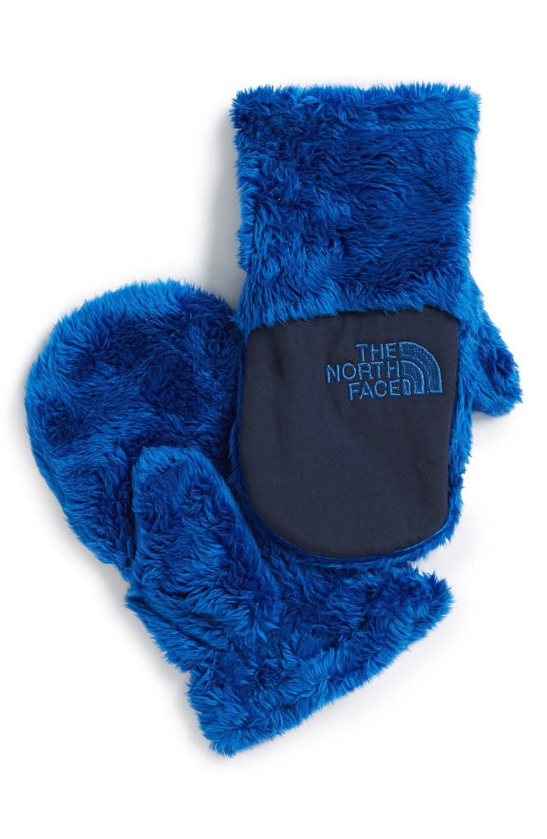 THE NORTH FACE 'Oso Cute' Mittens, Main, color, 400
