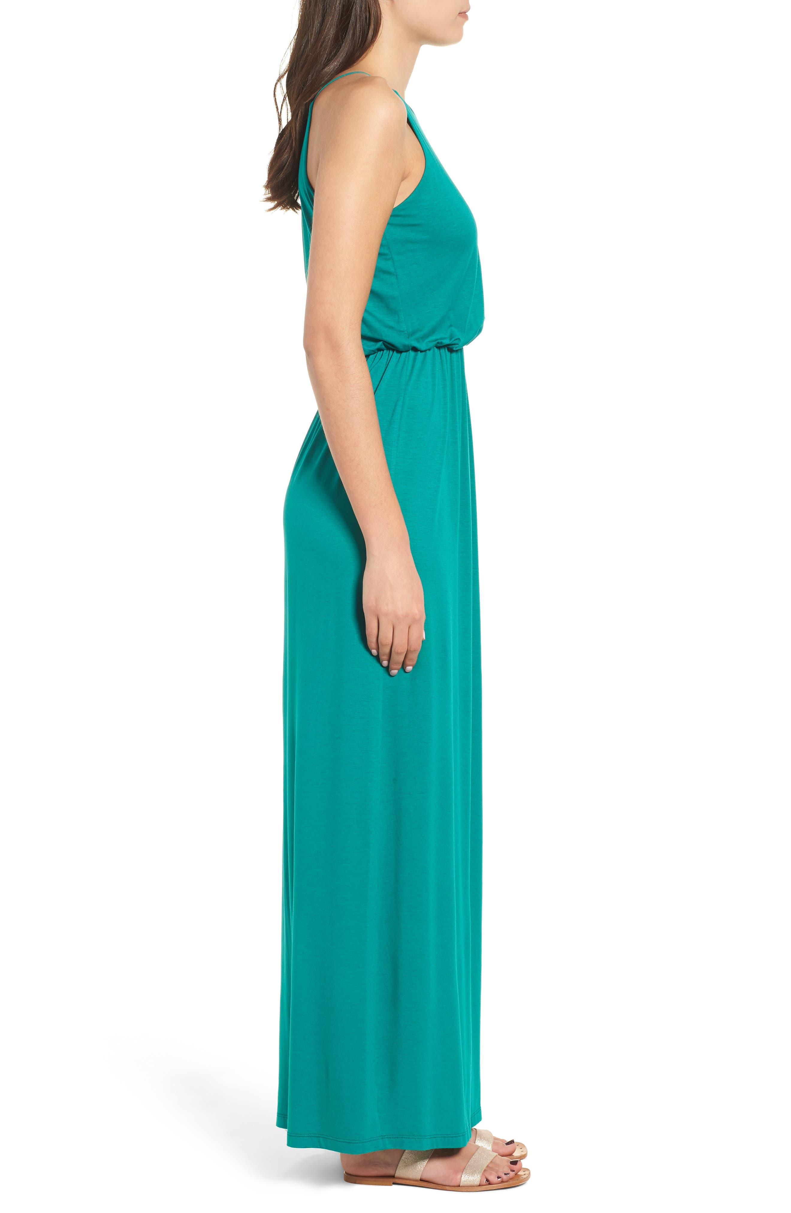 ,                             High Neck Maxi Dress,                             Alternate thumbnail 11, color,                             301