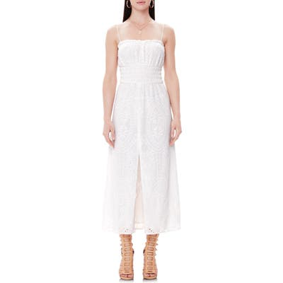 Afrm Indy Midi Sundress, White