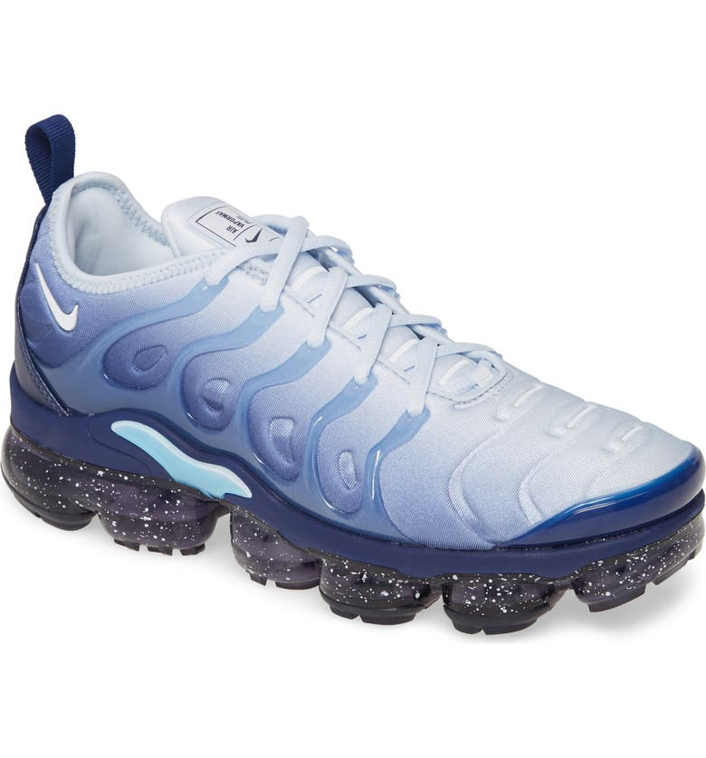 NIKE Air VaporMax Plus Sneaker, Main, color, COASTAL BLUE/ WHITE/ BLUE