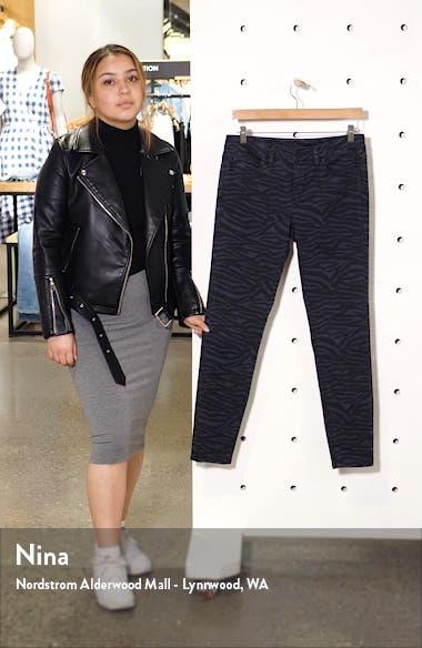 Zebra Print Skinny Jeans, sales video thumbnail