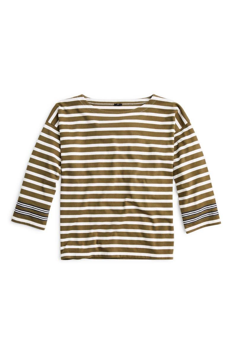 J.CREW Striped Tee, Main, color, 029