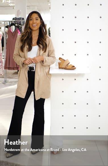 Joanie II Slingback Wedge Sandal, sales video thumbnail