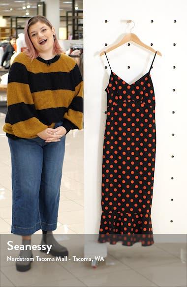 Polka Dot Camisole Maxi Dress, sales video thumbnail