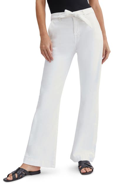 Jen7 Jeans BY 7 FOR ALL MANKIND TAILORLESS HIGH TIE WAIST TROUSER JEANS