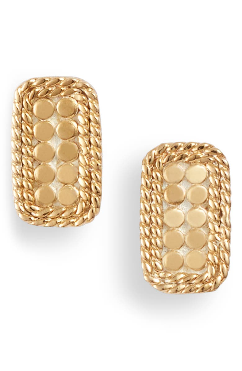 ANNA BECK Bar Stud Earrings, Main, color, GOLD