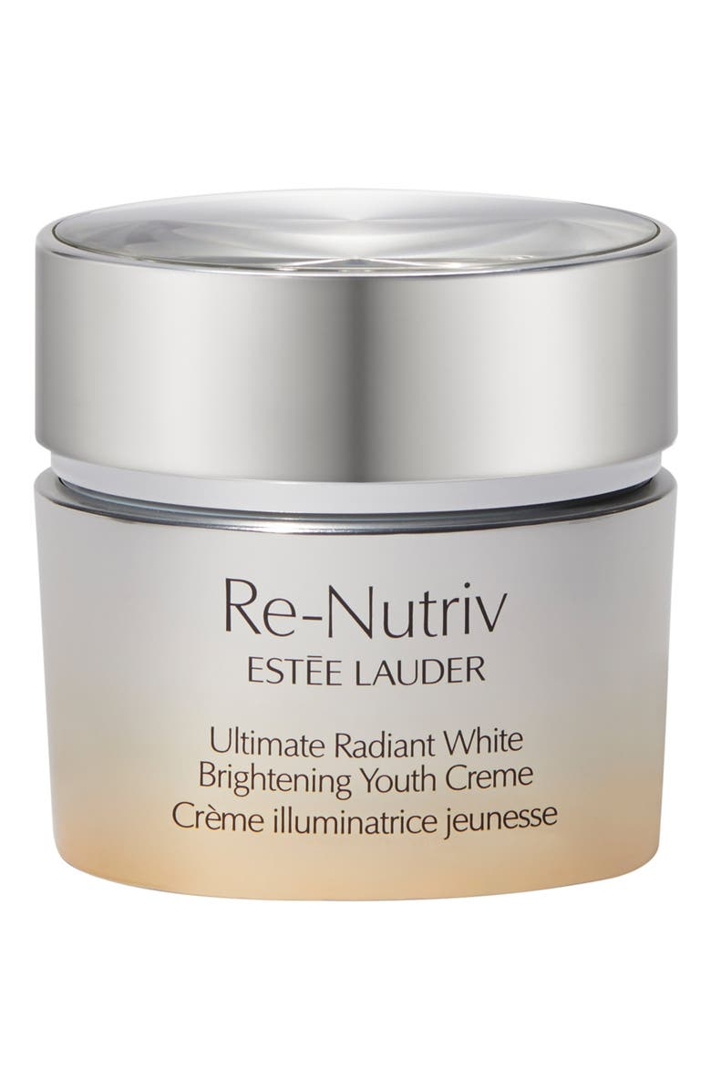 ESTÉE LAUDER Re-Nutriv Ultimate Radiance White Brightening Youth Cream, Main, color, NO COLOR