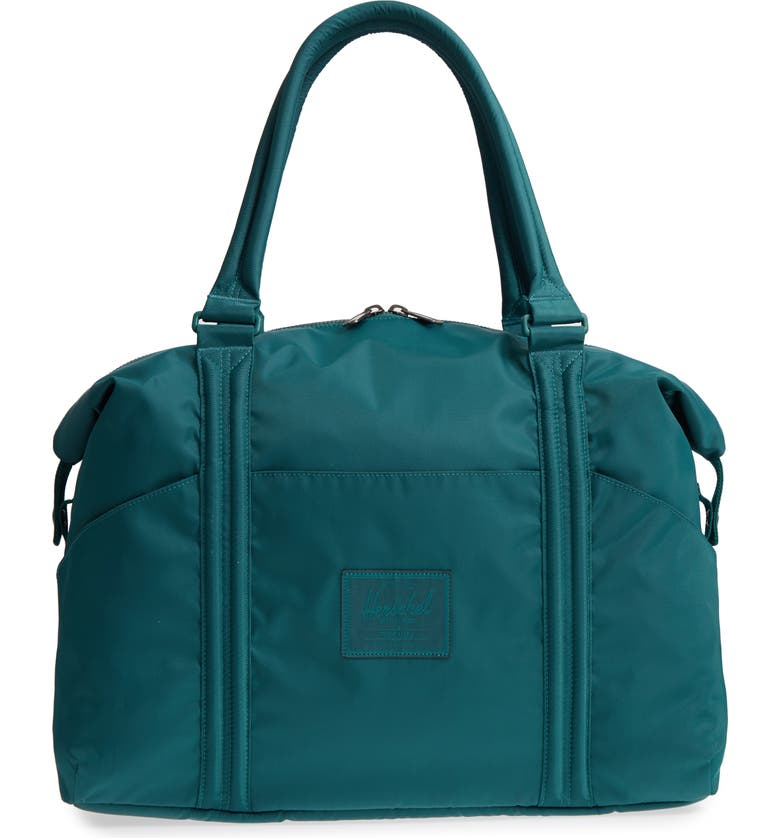 HERSCHEL SUPPLY CO. Strand Flight Satin Duffel Bag, Main, color, 400