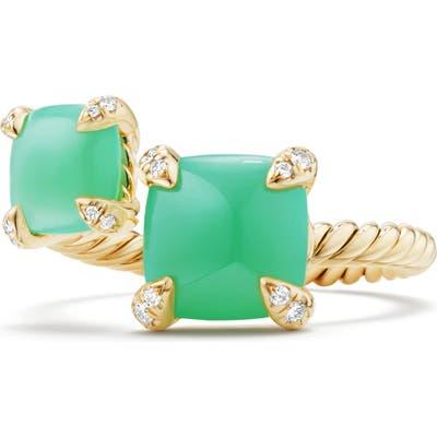 David Yurman Chatelaine Bypass Diamond Ring