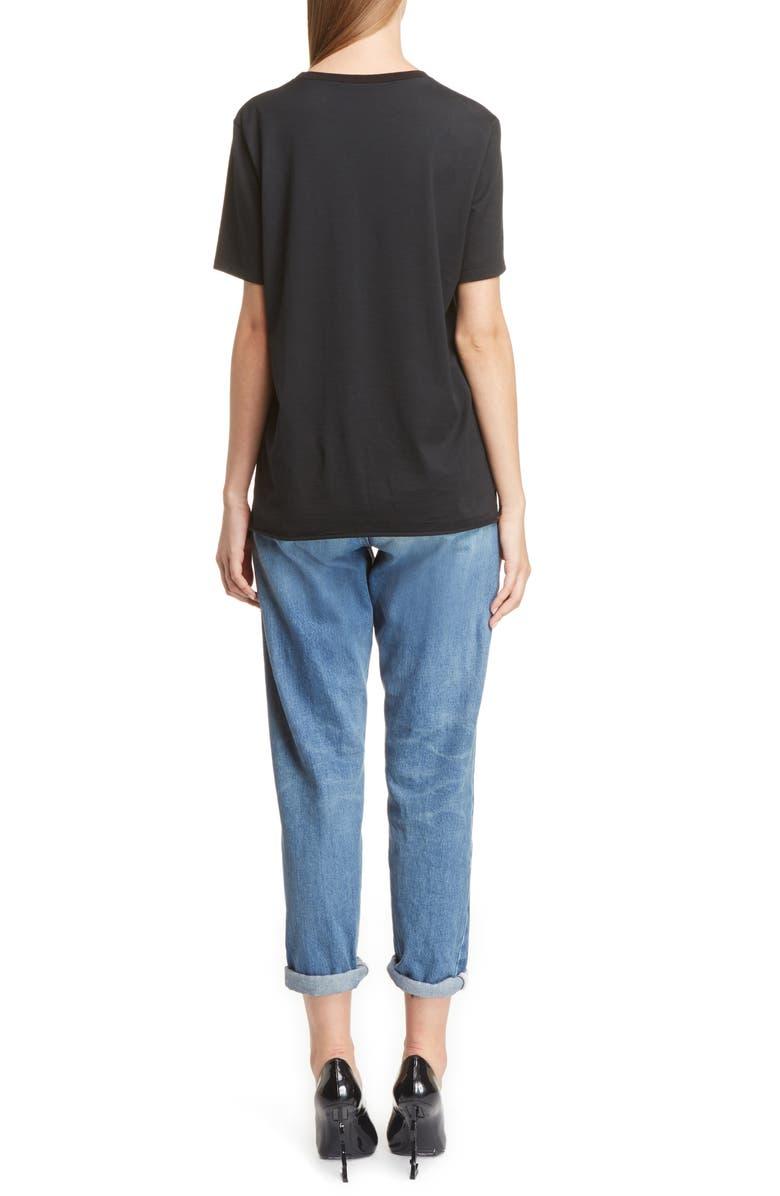 SAINT LAURENT Boyfriend Jeans, Main, color, 401