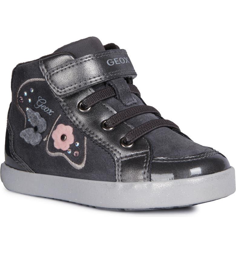 GEOX Kilwi 62 Sneaker, Main, color, DARK GREY