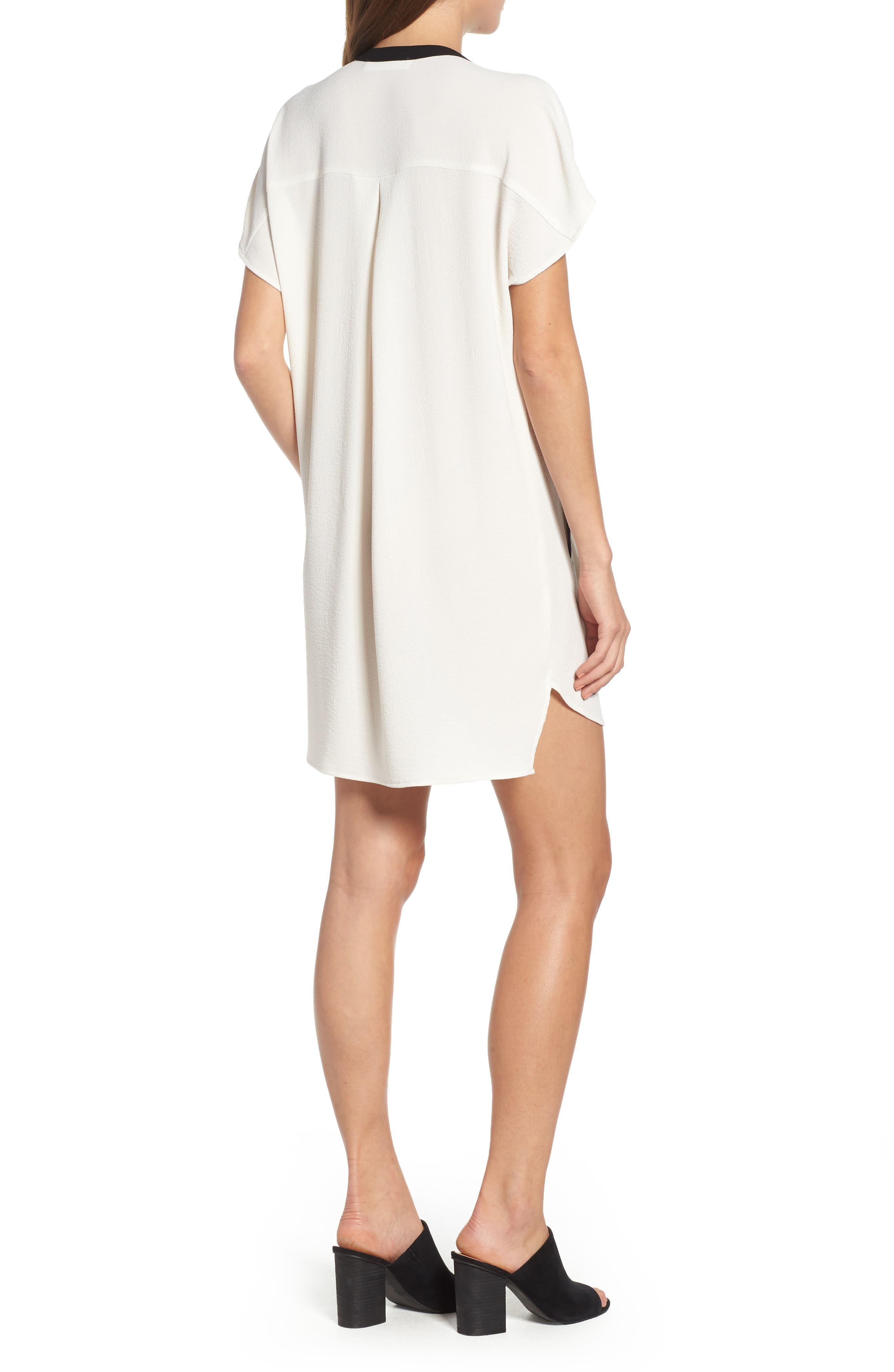 ,                             ASTR V-Neck Crepe Shift Dress,                             Alternate thumbnail 12, color,                             900