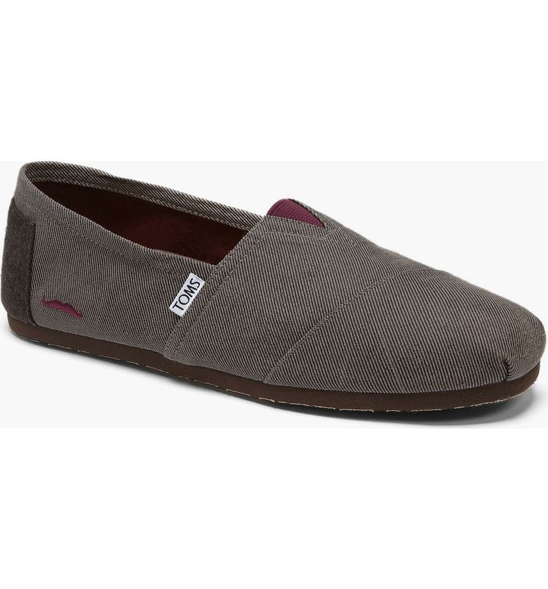 TOMS 'Classic' Twill Slip-On, Main, color, 271