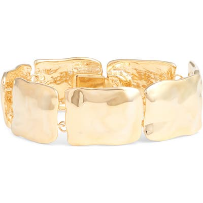 Halogen Wavy Metal Bracelet