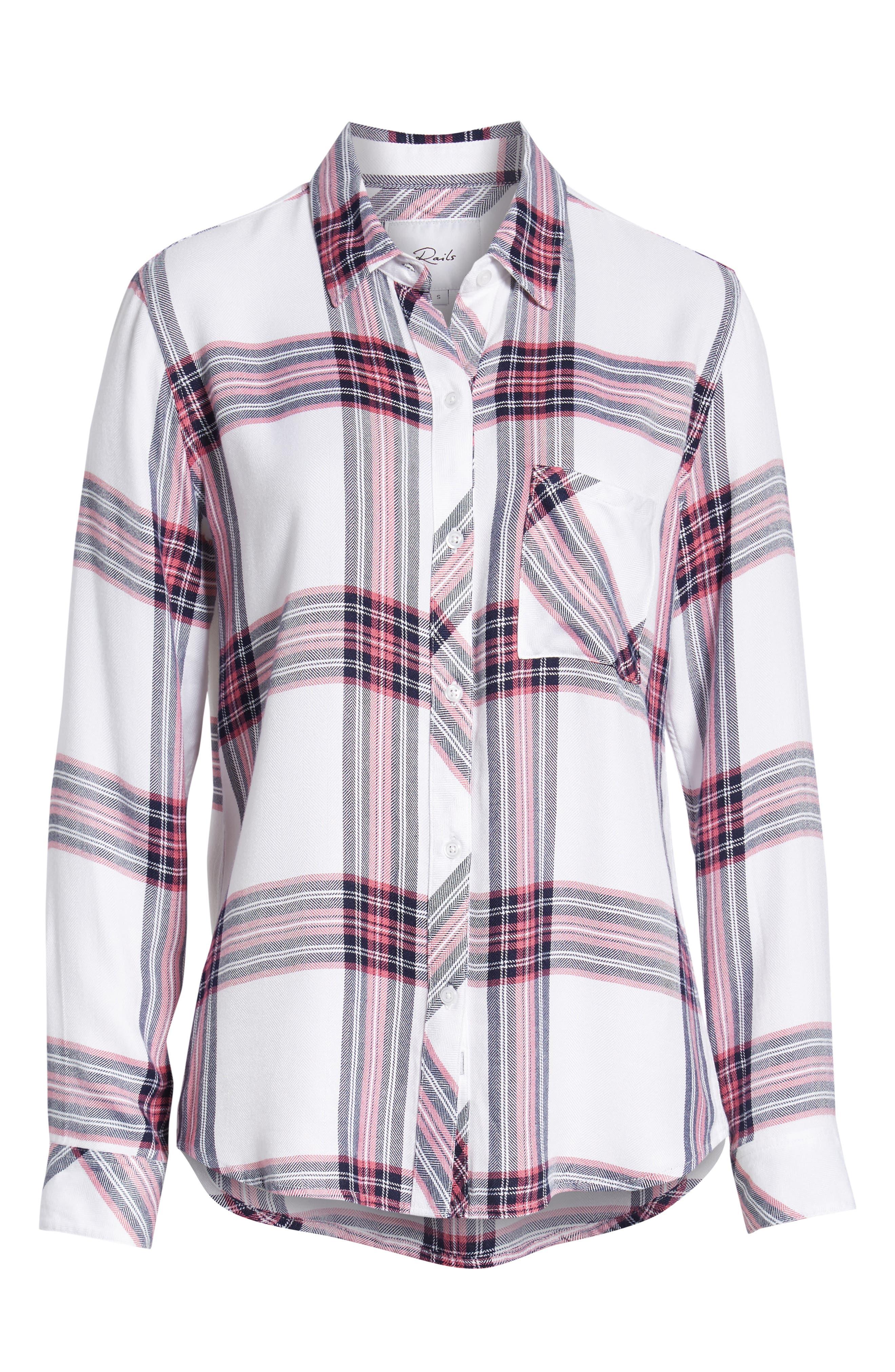 ,                             Hunter Plaid Shirt,                             Alternate thumbnail 98, color,                             140