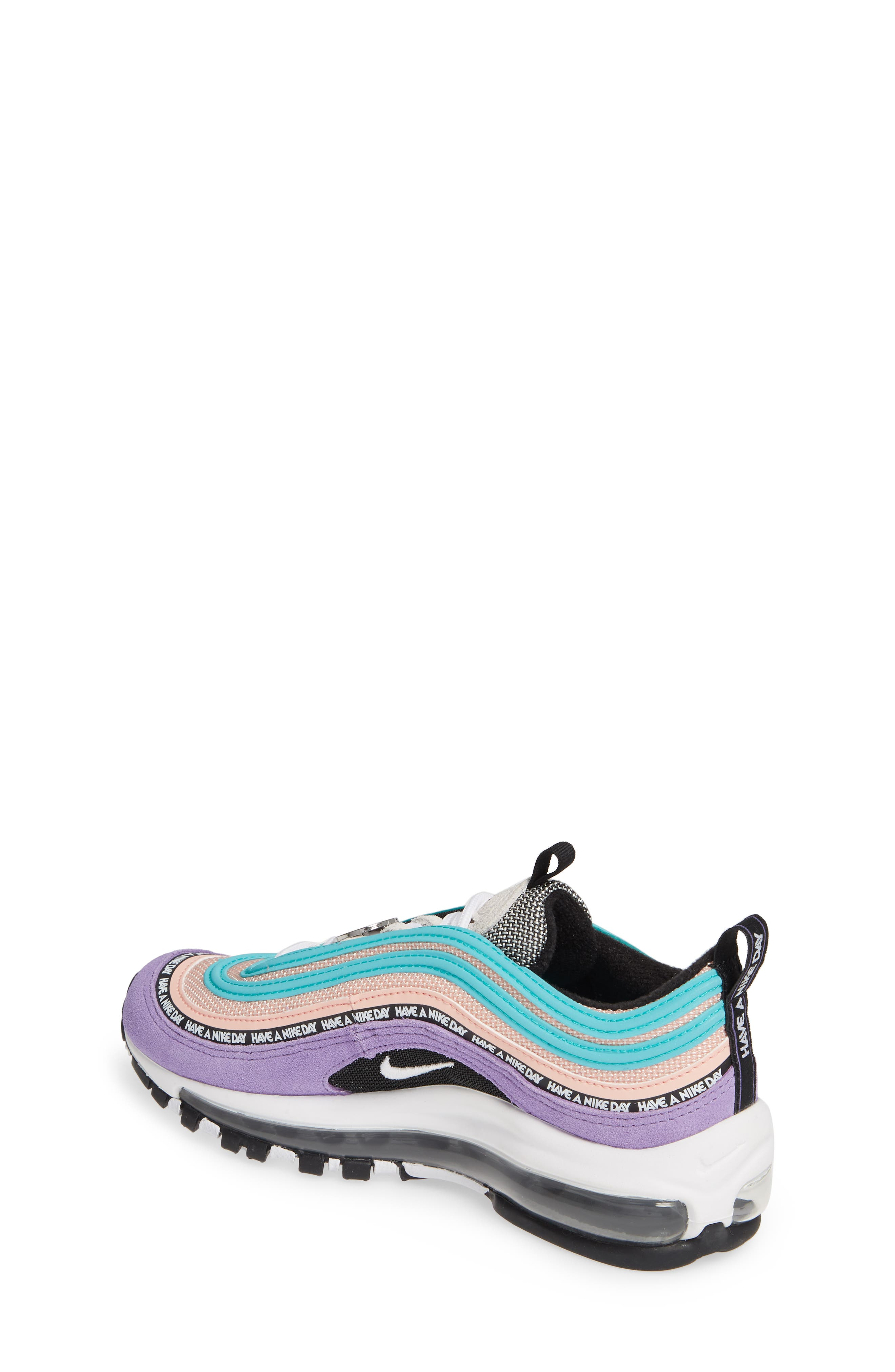 ,                             Air Max 97 SE Have a Nike Day Sneaker,                             Alternate thumbnail 2, color,                             500