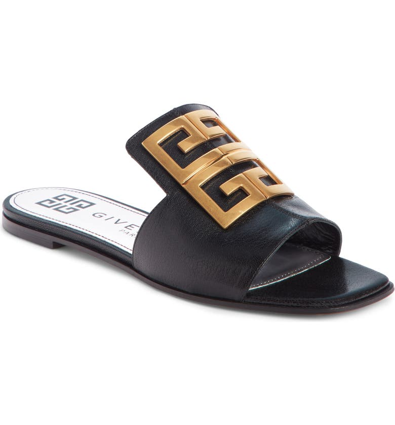 Givenchy 4G Logo Slide Sandal Women
