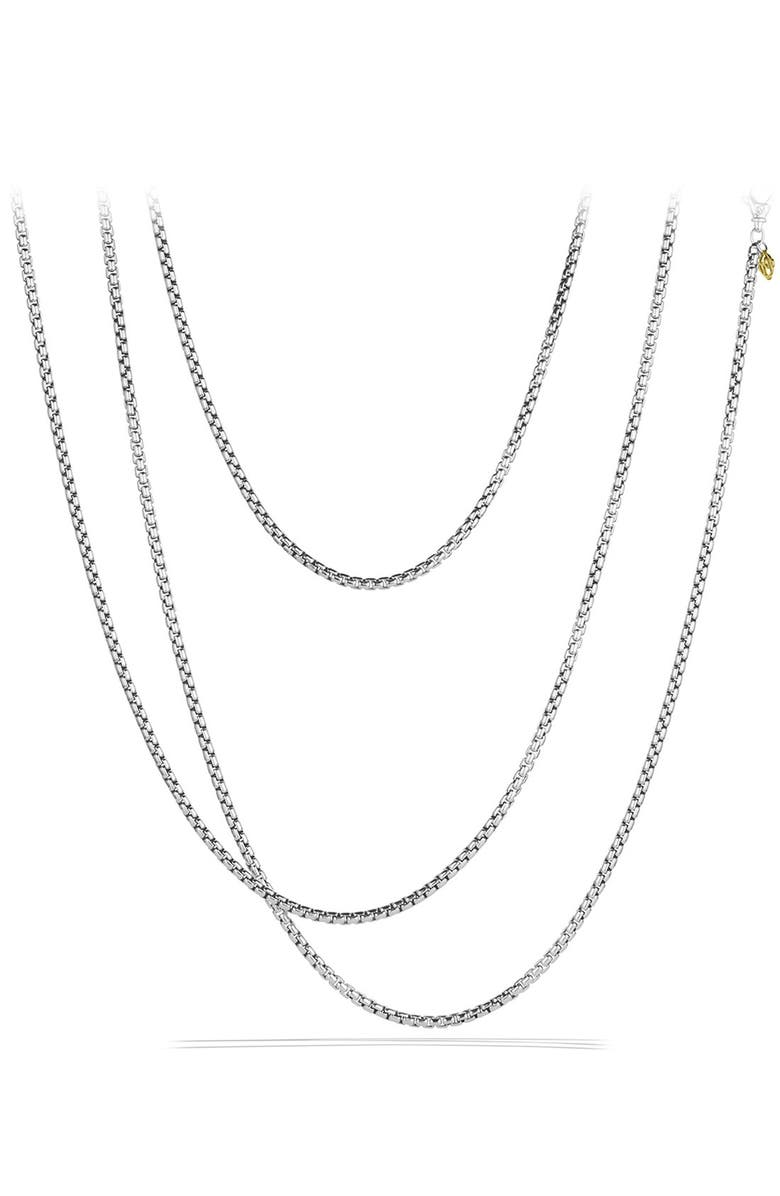 DAVID YURMAN 'Chain' Medium Box Chain with Gold, Main, color, TWO TONE