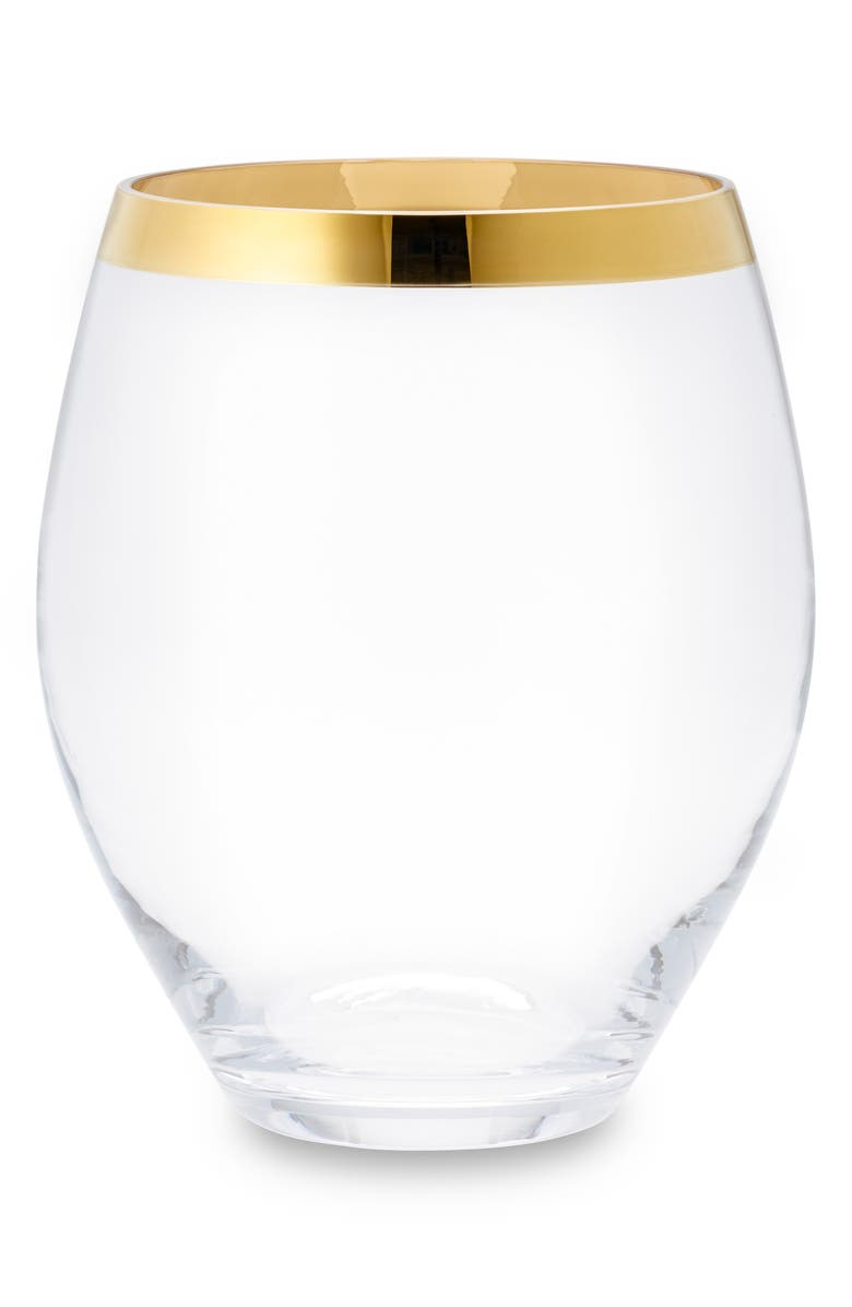 AERIN Gabriel Large Hurricane, Main, color, CLEAR/ GOLD