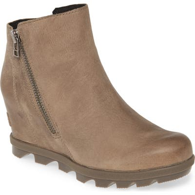 Sorel Joan Of Arctic Ii Waterproof Wedge Boot- Brown