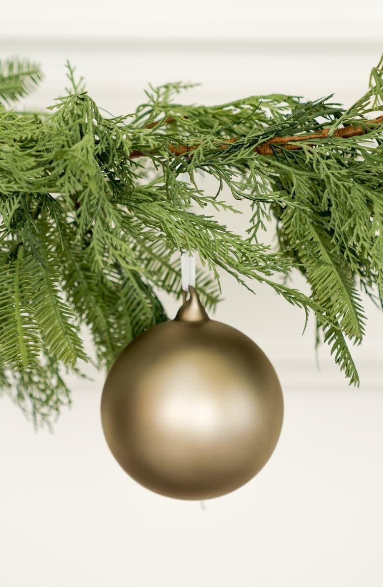 RACHEL PARCELL Matte Mercury Glass Ornament, Main, color, 040