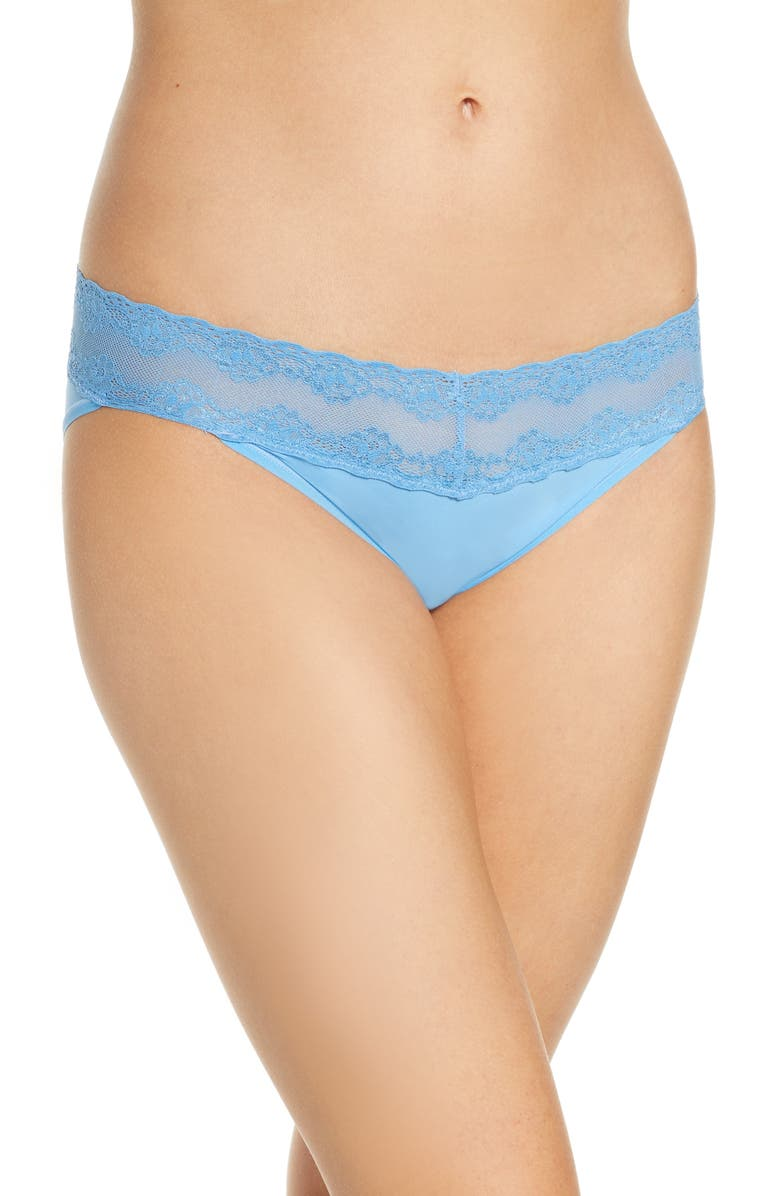 NATORI Bliss Perfection Bikini, Main, color, AZURE