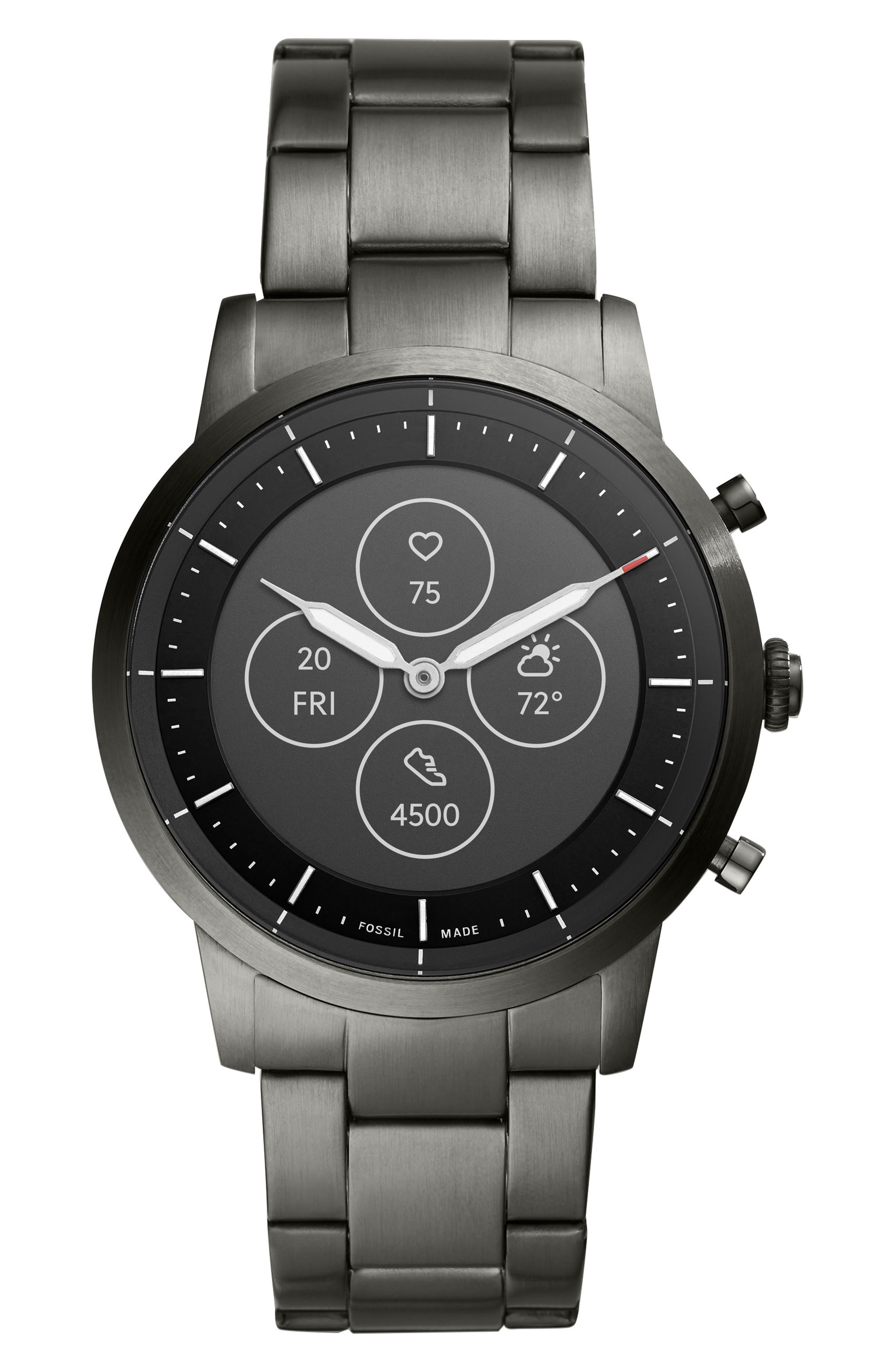 Collider Hybrid Hr Chronograph Smart Bracelet Watch
