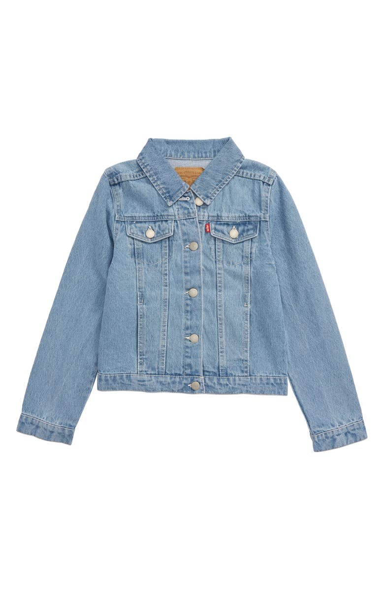LEVI'S<SUP>®</SUP> Denim Trucker Jacket, Main, color, ALANIS