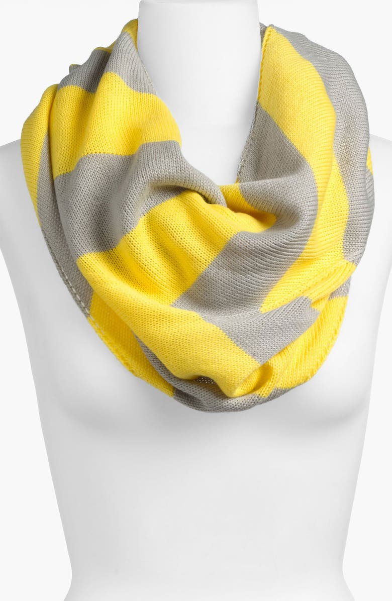 BP. Rugby Stripe Infinity Scarf, Main, color, 060